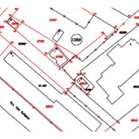 Projects for amendments of the cadastral map and cadastral registers